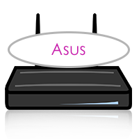 Asus Router mit Spar-by-Call